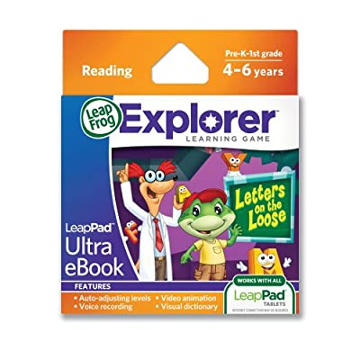 LeapFrog LeapPad Ultra eBook Letters on The Loose Game: Toys & Games
