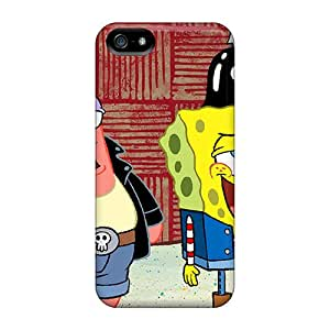 Defender Case With Nice Appearance (spongebob) For Iphone 5/5s