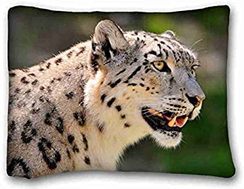 Snow Leopard Body Pillow | Etsy