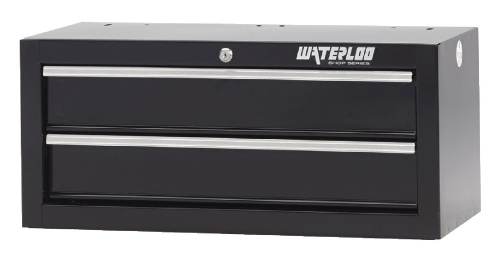 Waterloo Shop Series 2-Drawer Intermediate Tool Chest, 26''W - Designed, Engineered and Assembled in the USA by Waterloo