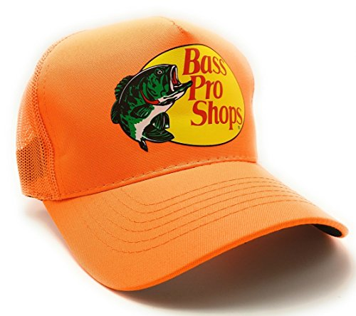 Authentic Bass Pro Mesh Fishing Hat Adjustable, One Size Fits Most
