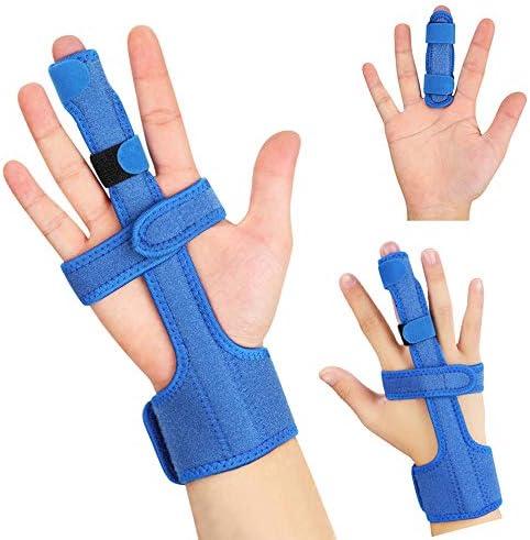 [Gesponsert]Fingerschiene, Finger Korrektur Schiene Einstellbare Trigger Finger Schiene kapselriss Handbandage Schiene für...