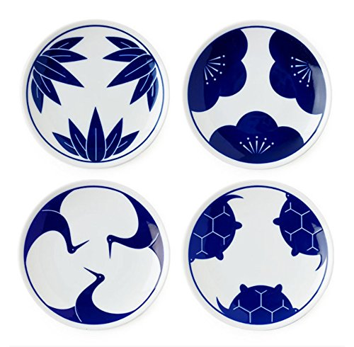 japanese blue and white dishes - 8