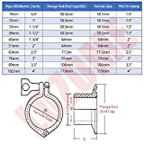 """LOZOME 1-1/2"""" Sanitary Butterfly Valve with Trigger"""
