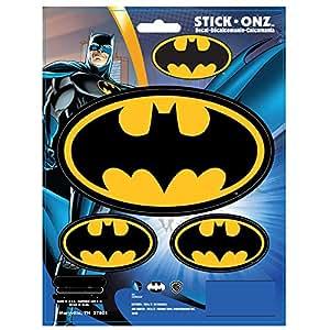 Amazon.com: Batman Logo 3pc Stick Onz Decal: Automotive