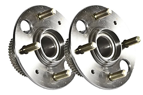 Callahan 512175X2 [2] Pair REAR Premium Grade [ 4 Lug EX [2] Pair REAR Drum ] Wheel Hub Bearing Assemblies [ 512175 ]