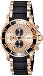 Invicta Watches Mens Sea Spider Chronograph Polyurethane Band Watch