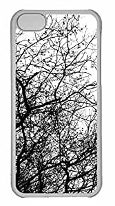 iPhone 5C Case, Personalized Custom Tree 19 for iPhone 5C PC Clear Case