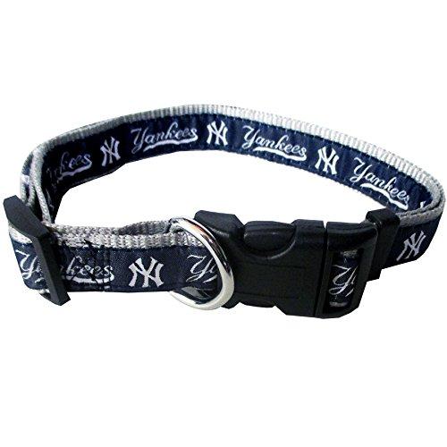 Tuff Lock (MLB NEW YORK YANKEES Dog Collar, Small)