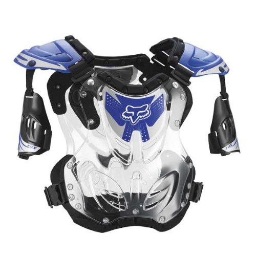 Fox Racing R3 Roost Deflector, Blue, MD by Fox Racing (Image #2)