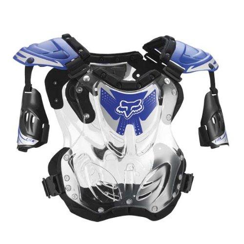 - FOX R3 ROOST DEFLECTOR BLUE LG 155-210+ LB/5'8