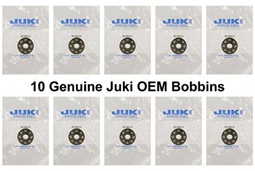 Juki Ddl-5550 Ddl-8300 Ddl-8700 Ddl-9000 Original Bobbins - 10 Pack #229-32909 (Machine Sewing Bobbins Juki)