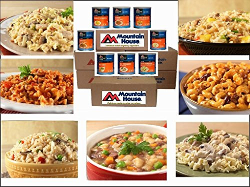 Mountain House 1 Year Entrees Emergency -