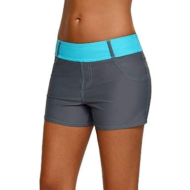 cf79ff3ac Elodiey Pantalons De Natation Femme Yoga Fitness À Entraînement ...