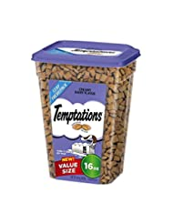 TEMPTATIONS Classic Treats for Cats Creamy Dairy Flavor 16 Ou...