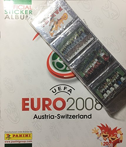 Panini Euro Cup 2008 Austria-Switzerland Empty Album + Complete Sticker Set