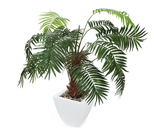 "Closer2Nature Artificial 3ft 6"" Kentia Palm Tree - Portof..."
