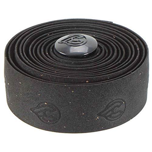 Cinelli Cork Gel Ribbon Handlebar Tape, Black ()