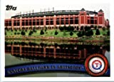 2011 Topps Limited EDITION #TEX17 Rangers Ballpark in Arlington Texas Rangers In a protective screwdown display case