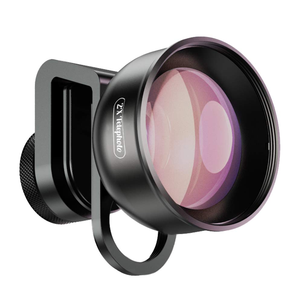 Apexel 2X Telephoto Lens for Dual Lens/Single Lens iPhone,Pixel,Samsung Galaxy Smartphones by Apexel