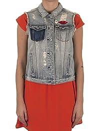 Scotch & Soda Women's Maison Scotch Denim Trucker Vest