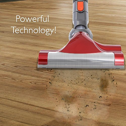 Captures Dust and Pet Hair Compact Hand-held Bagless Floor Stick Cyclonic Suction w// HEPA Filter Portable Handheld Cordless Vacuum Cleaner Pyle PUCVCBAT48 Pyle USA Rechargeable Battery Canister