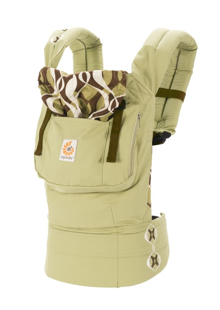 Ergobaby Original Baby Carrier, Bamboo Forest Discontinued by Manufacturer