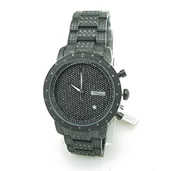 403ed35f3e7 Image Unavailable. Image not available for. Color  JoJino Mens Diamond Watch  ...