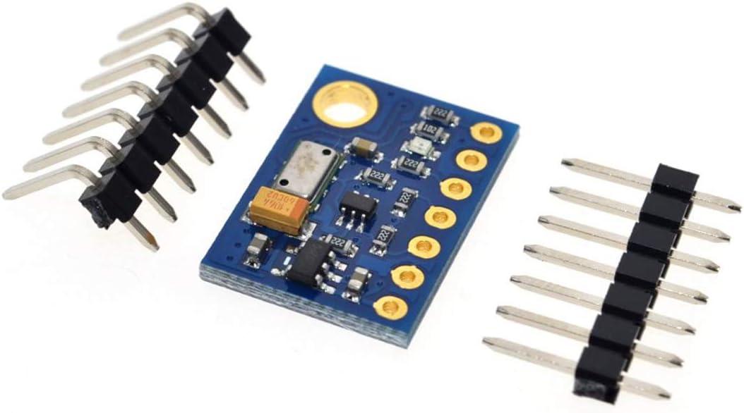 blau /& schwarz GY-63 Mini-Format High Precision MS5611 Hoch Resolutio n Atmosph/ärendruckmodul H/öhensensor IIC SPI
