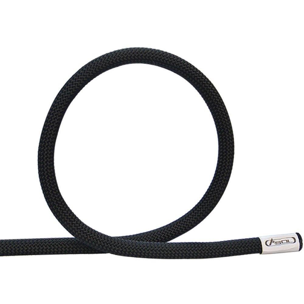Noir ANHPI Rock Escalade Corde Corde Statique en Rappel Corde en Plein Air Corde équipement De Sauvetage Usure,bleu-10m10.5mm 10m10.5mm