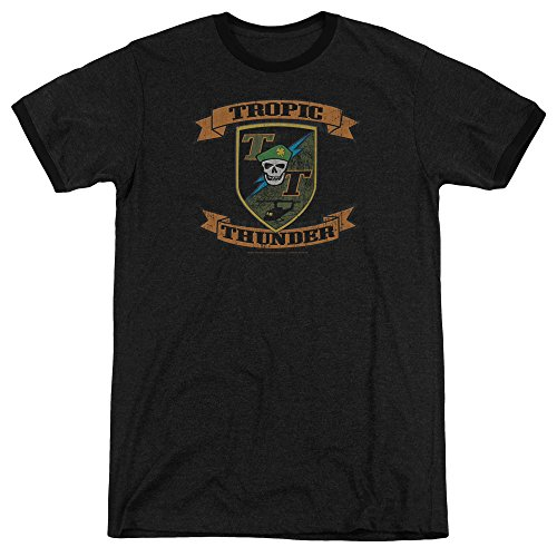 Tropic Thunder - Patch Adult Ringer T-Shirt