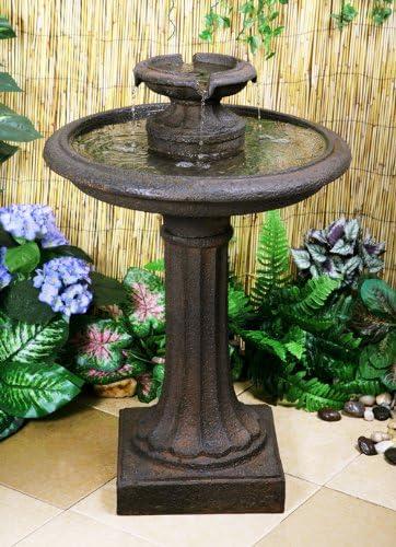 Fuente de Agua Baño para Aves Maleda: Amazon.es: Jardín