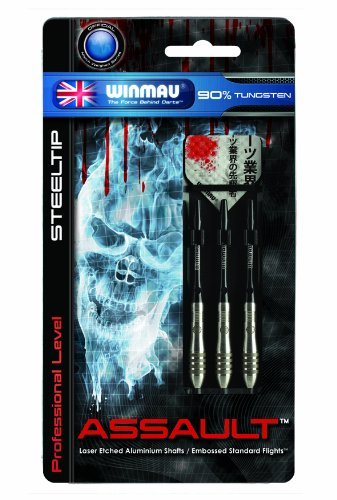 Winmau Assault 90% Tungsten Professional-Level Steel Tip Alu