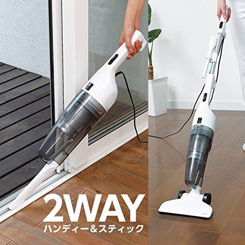 Twin Bird Cyclone stick type cleaner skeleton black vacuum TC-E123SBK