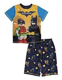 "Lego Batman Big Boys' ""Heroic Friendship"" 2-Piece Pajamas"