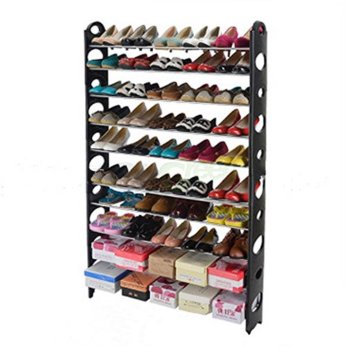 Rack Shoe Organizer Storage10 Shelf Tier Closet Cabinet Tower Space Saving 50 Pair Standing Free Home 6 Layer - Nordstrom Thousand Oaks
