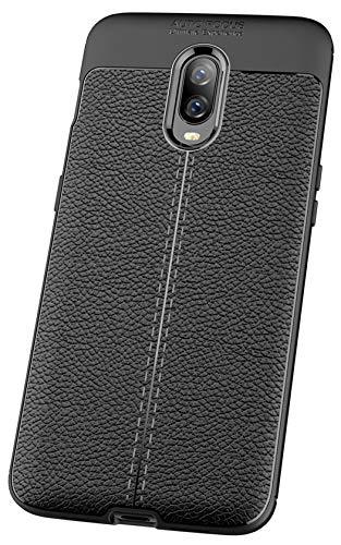 Xigua OnePlus 6T Case, Ultra Light Shock Proof Rugged Carbon Fiber Slim...