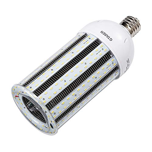 (100W LED Corn Light Bulb E39 Large Mogul Screw Base UL Listed 12000Lm 5000K Daylight Replacement 400w Metal Halide HID CFL HPS,for High Bay Low Bay Warehouse Garage Parking Lot Street Lamp Lighting.)