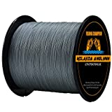 Milakoa Anglynn 100% PE 4 Strands Braided Fishing Line 500 M/547 Yd for Saltwater Freshwater 20lb 30lb 50lb 80lb 100lb Review