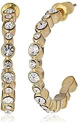 "Carolee ""Monaco Moments"" Stone Hoop Earrings"