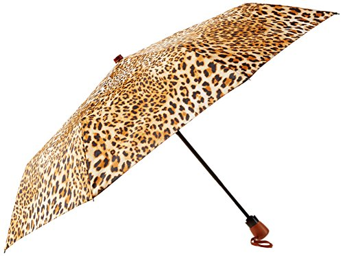adrienne-landau-auto-open-close-compact-with-wood-handle-cheetah-one-size