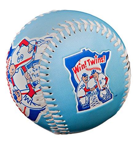 Jarden Sports Licensing MLB Minnesota Twins Retro Baseball, Blue