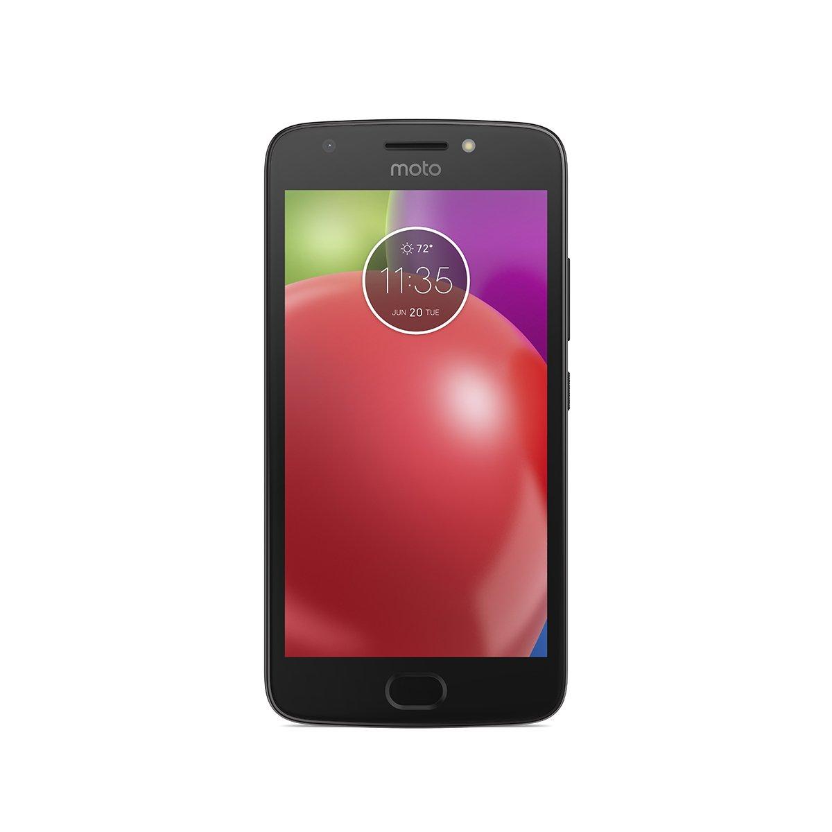 Moto E (4th Generation) - 16 GB - 3G Unlocked (AT&T/T-Mobile) + Verizon Wireless 4G LTE Smartphone - Black