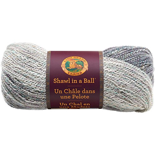 Lion Brand Yarn 828-300 Shawl in a Ball, Om -