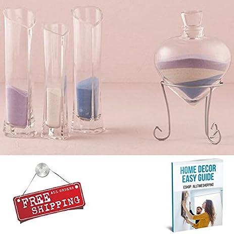 Amazon Sand Ceremony Wedding Kit Vase Bottle Glass With Lid