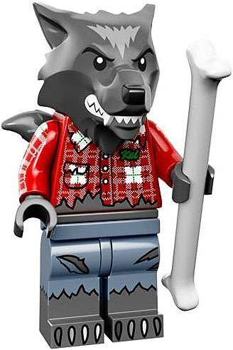 LEGO Series 14 Minifigure Wolf Guy -