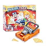 Mini Horse Mousetrap Kids Cheese Toys Toddler Travel Game - Who Steal The Cheese?