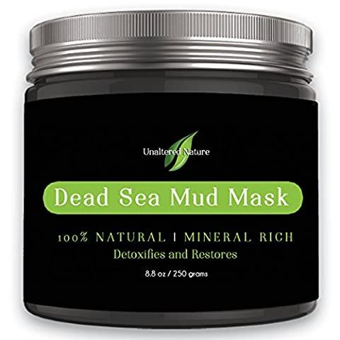 Premium - Mud Mask - SPA GRADE - Dead Sea Mud Mask for - Facial Treatment, 250g / 8.8 fl.oz - Best Mud Mask - Face Mask - Skin - Best Clay Mask