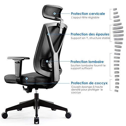 Chaise Protection Pour Intey De Siège Bureau Ergonomique Quadruple tChsrdxBQ