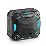 BlitzWolf Portable Bluetooth Speakers, 5W 2000mAh IP65 Water-resistant Hands Free Wireless MP3 Music Player for Outdoor Activity Blue